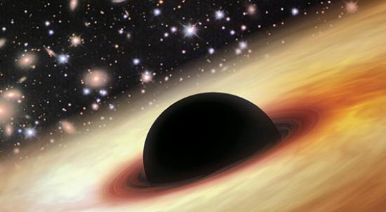 블랙홀 퀘이사 - NASA 제공